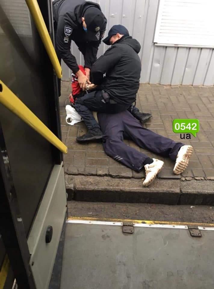 У Сумах пасажир побив водія тролейбуса