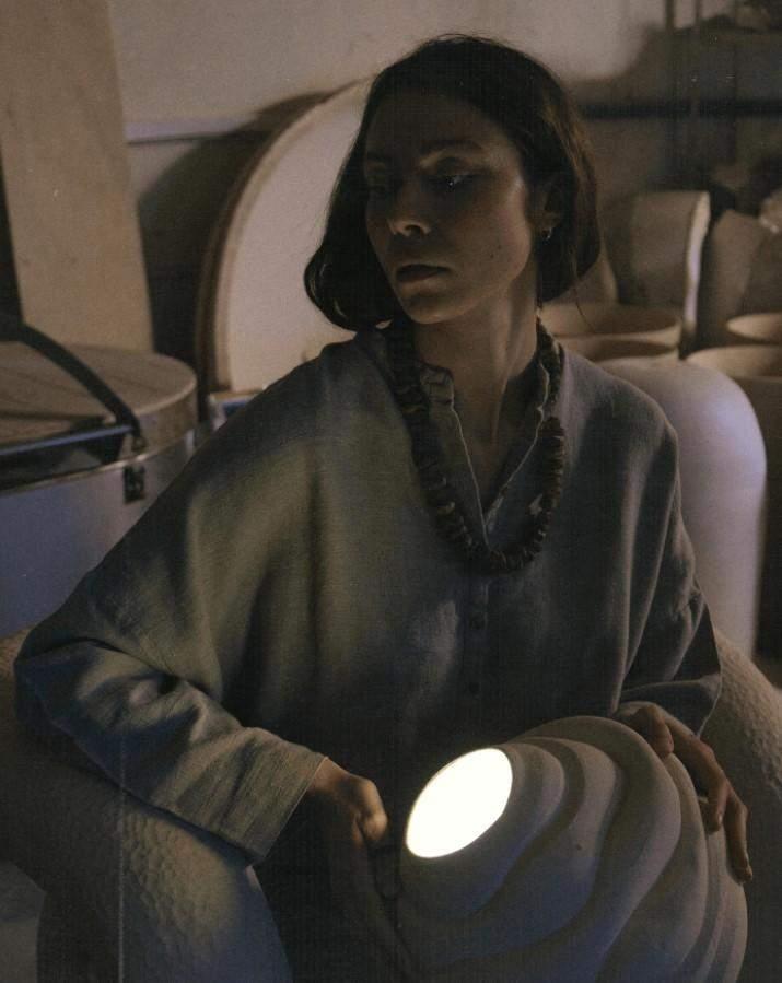 Керамічна лампа Vulyk