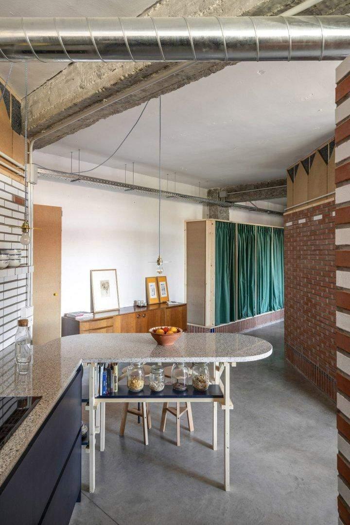 Квартира стала прикладом реновації старого приміщення