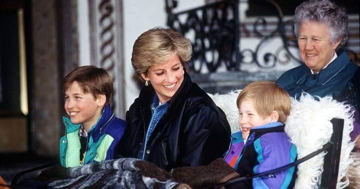 Принцеса Діана з синами Вільямом і Гаррі