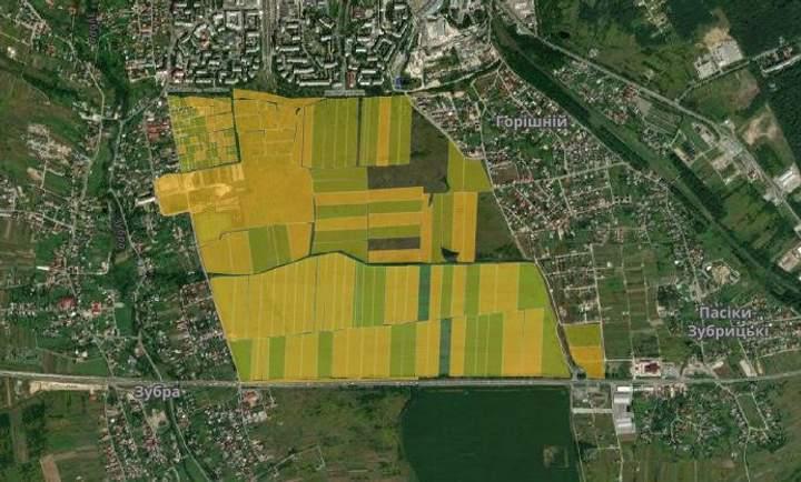 Дубневичі захопили 120 гектарів землі між Сиховом та об'їзною Львова, – ЗМІ