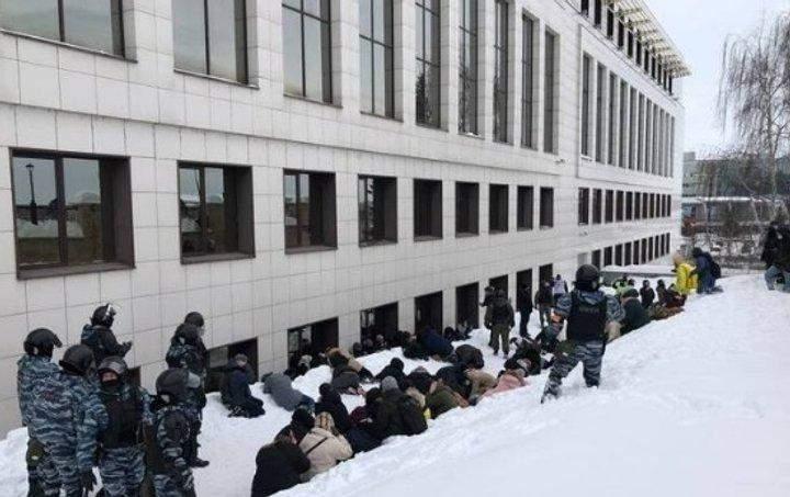 протести у росії 31.01.2021