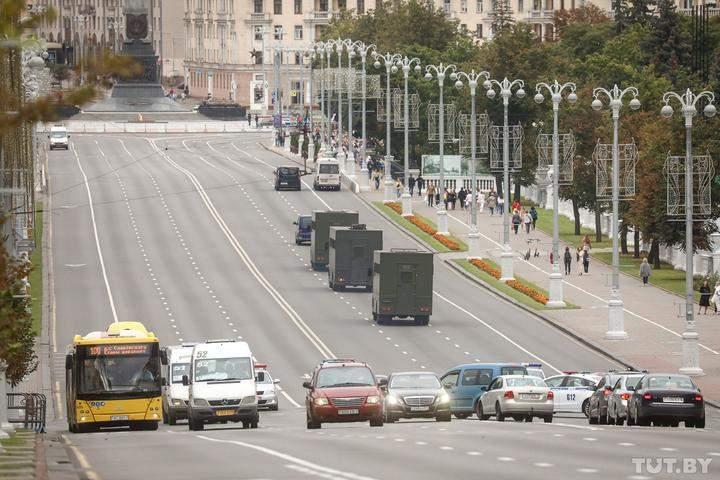 Протести в Білорусі 29 серпня