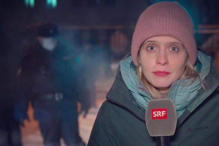 Люція Чирку, Швейцарія, журналістка, Білорусь, протести, 31 січня 2021