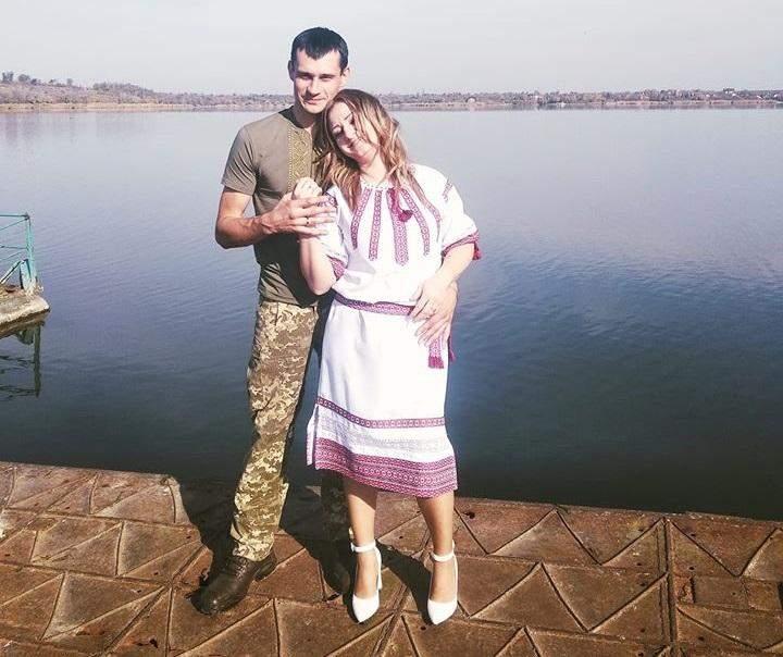Ірина Стогній з чоловіком