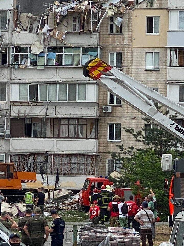 вибух газу в Києві