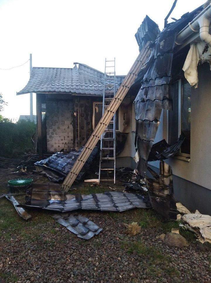 Будинок Шабуніна підпалили