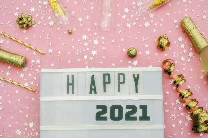 Новий рік 2021 картинки-привітання
