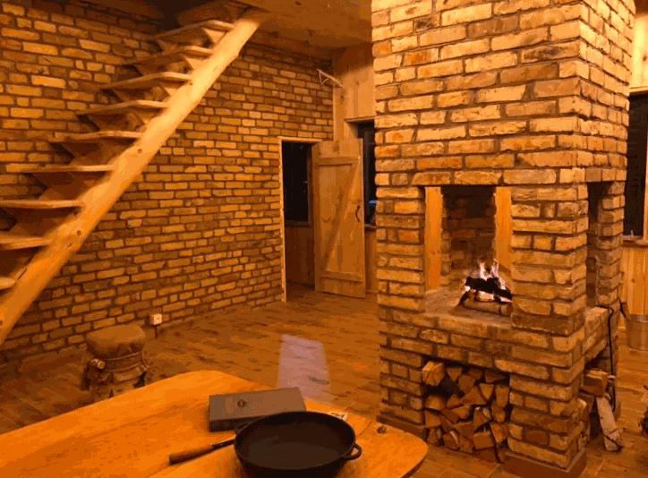 Гостиная сделана для уютных вечеров