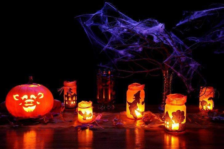 Свечи помогут сделать мистическую атмосферу