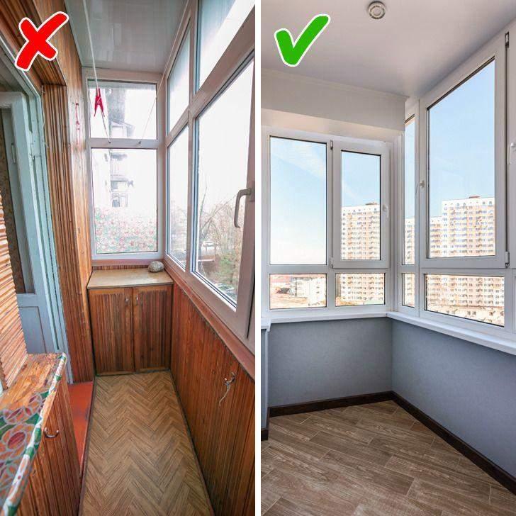 Сьогодні є безліч альтернатив для оздоблення стін на балконі
