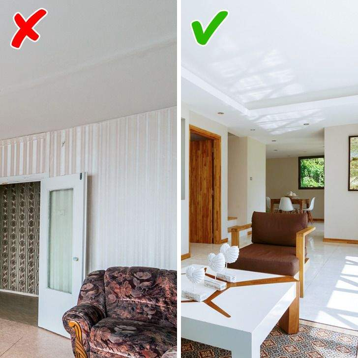 Обирайте сучасні варіанти, що допоможуть вирівняти стелю