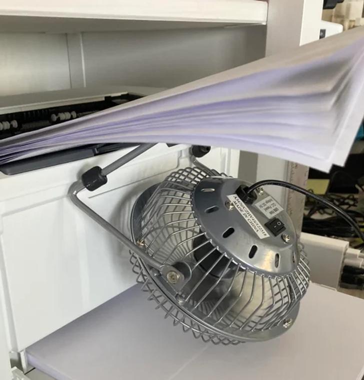 Способ охладить принтер, если много печатаете