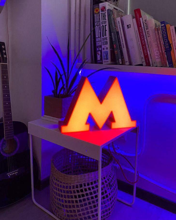 Этот замечательный светильник выглядит очень стильно
