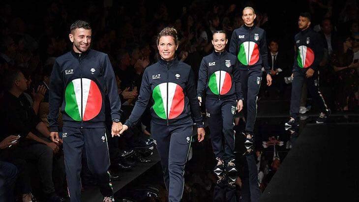 Збірна Італії форма Олімпіада 2020