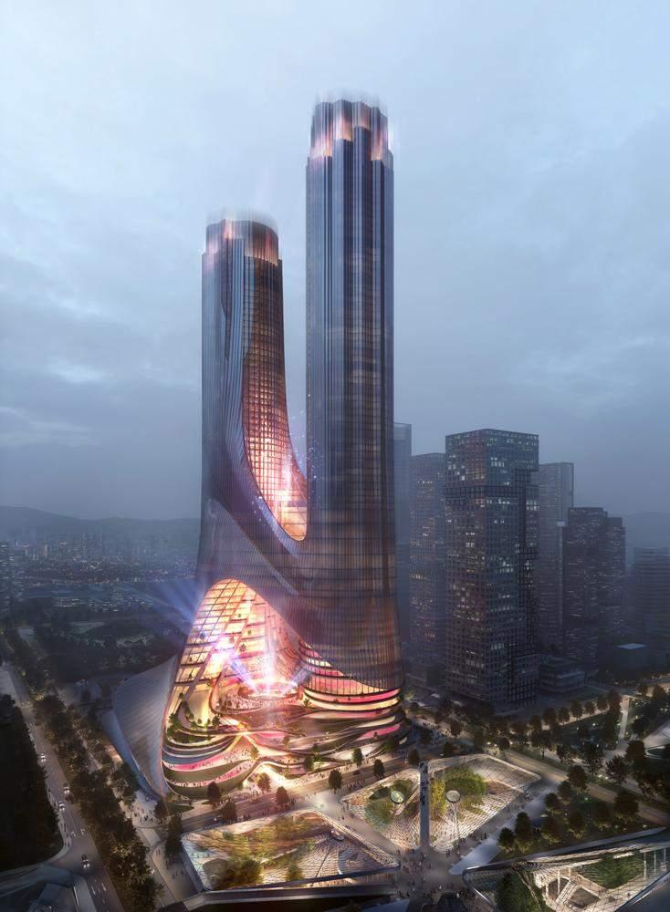 Нова будівля стане важливим економічним центром  / Фото Archdaily