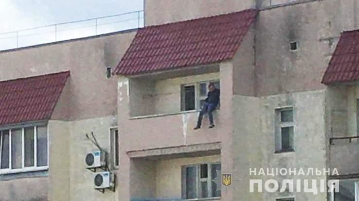 Самогубство Хотів стрибнути з балкона 9 поверху 2 вересня 2021 Київ