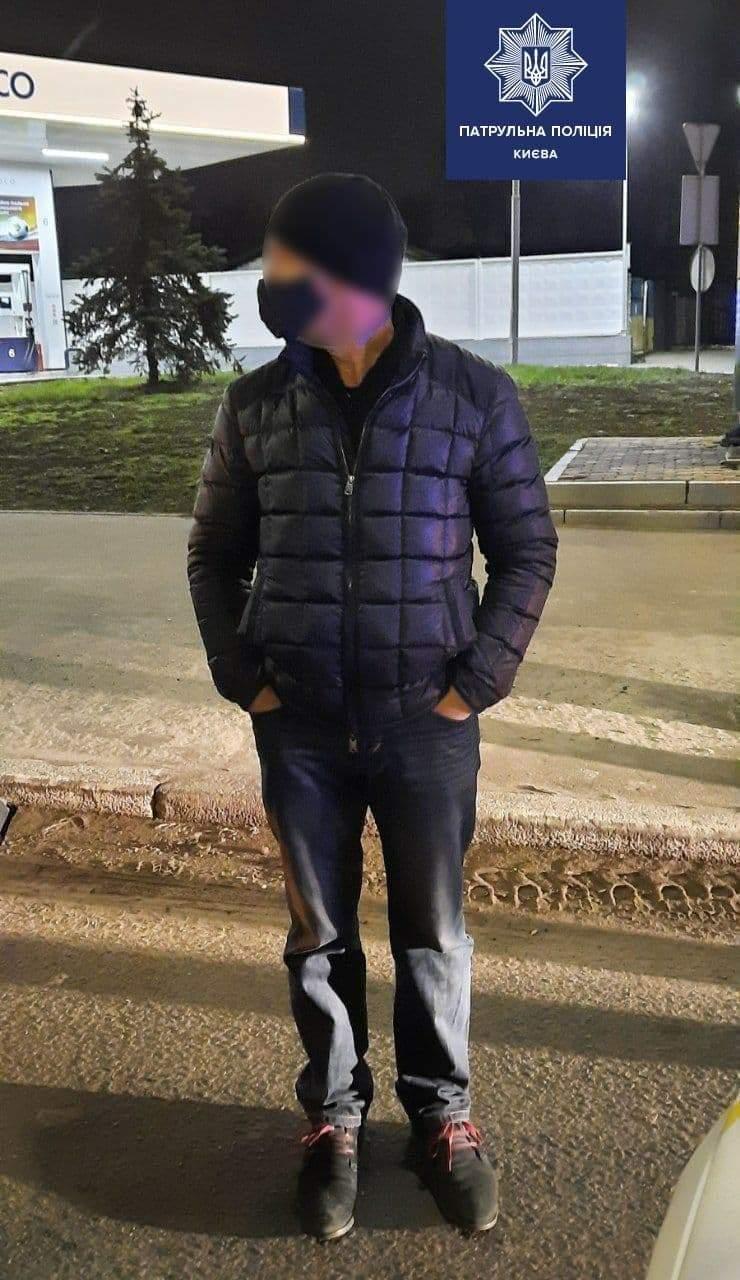 у Києві спіймали вщент п'яного водія