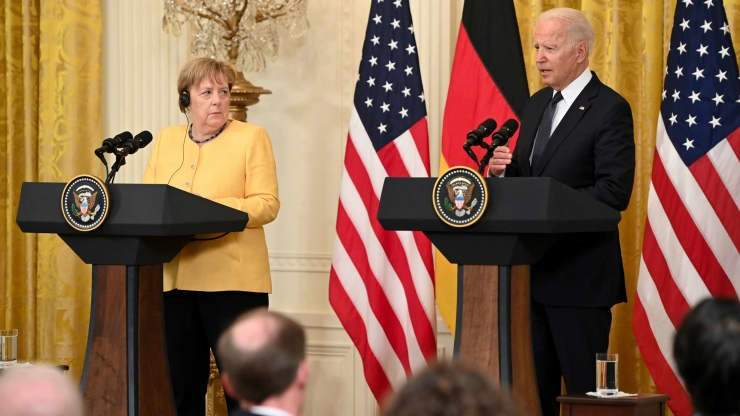 Меркель та Байден