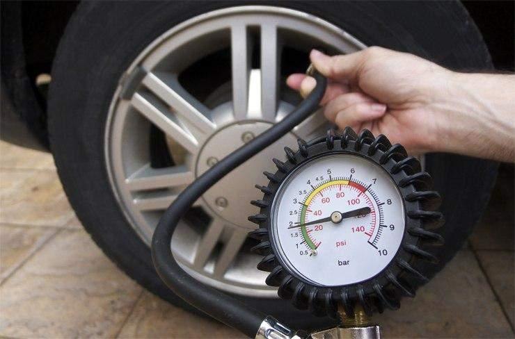 Слідкуйте за тиском в шинах