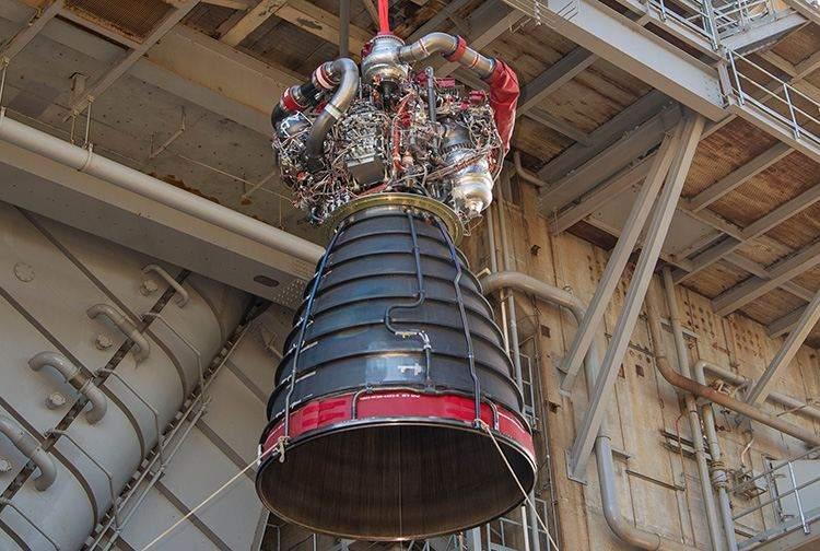 Оновлений досвідчений двигун RS-25