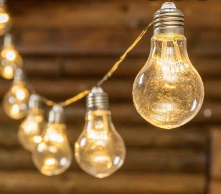 Гирлянда с лампочками придаст атмосферы любому празднику