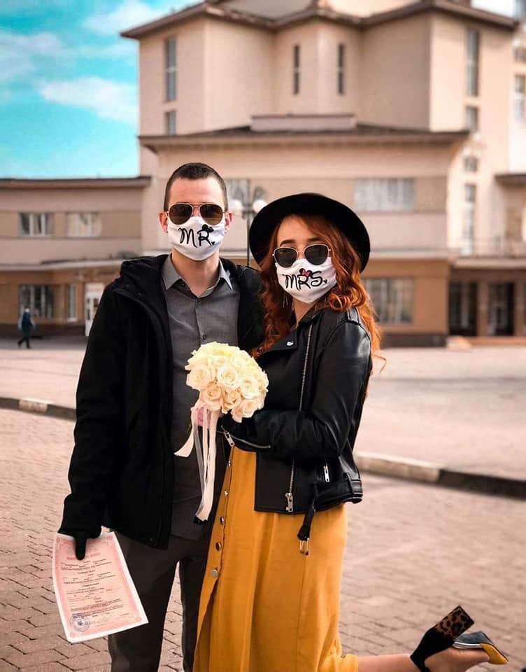 Свадьба с соблюдением всех норм безопасности в Ивано-Франковске, 2020