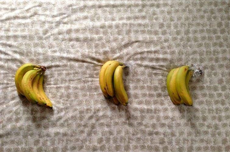 Загорніть верхівку банана
