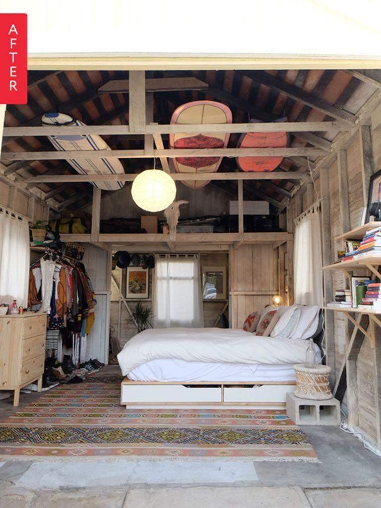 Кімната в гаражі - як повноцінний дім