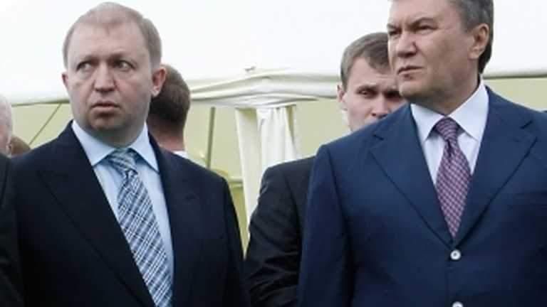 Василь Горбаль і Янукович