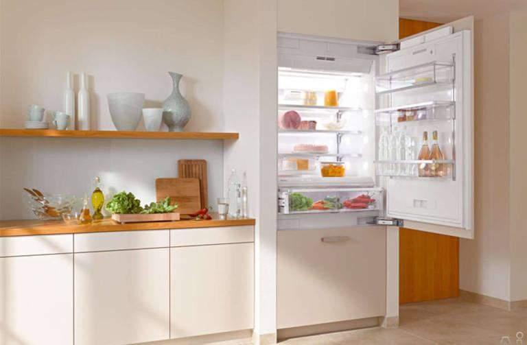 Дизайн вбудованих холодильних камер виглядає чудово