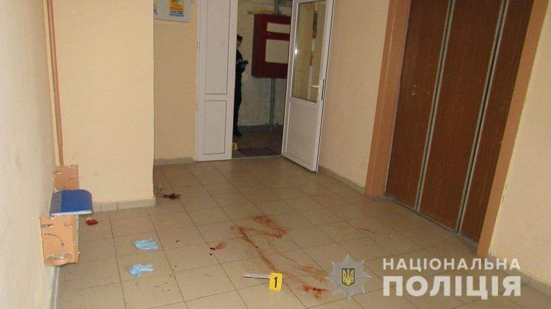 Разанина Київ Ніж Напад Оболонь Поліція Докази Затримані