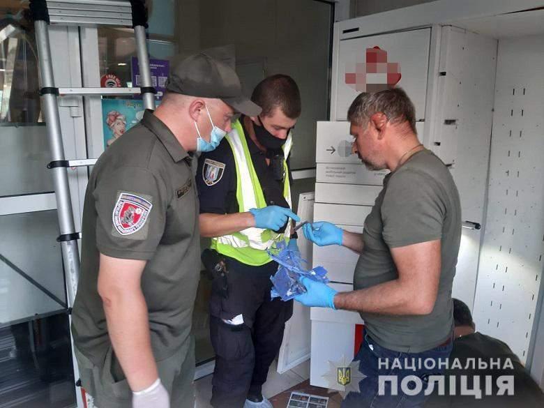 Вибух поштомата Нової пошти в Києві