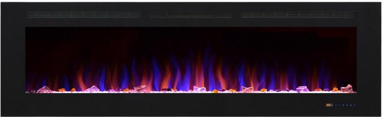 На фото електрокамін Royal Shine 72 (В * Ш * Г мм – 1830 x 550 x 140). Детальніше можна дізнатися на фірмовому сайті royal-flame.com.ua