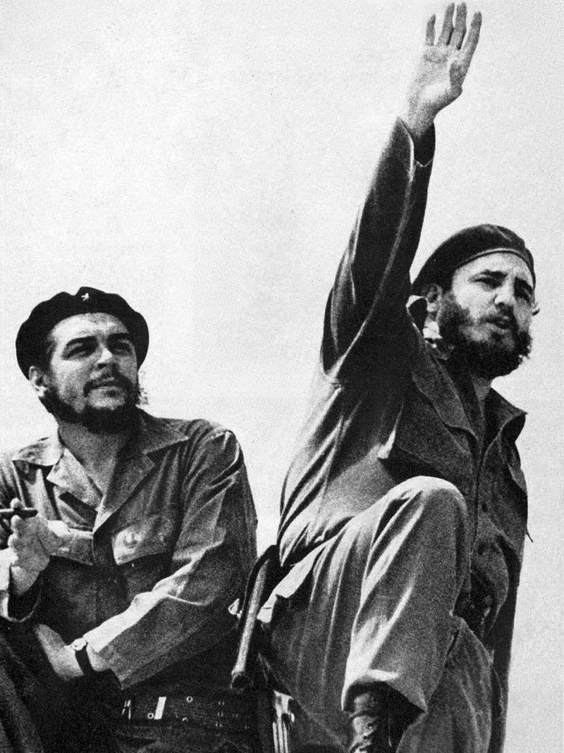 Фідель Кастро і Че Гевара
