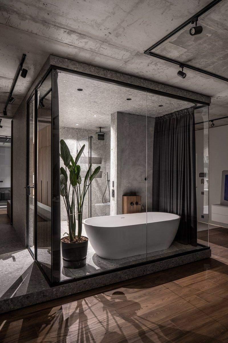 Родзинкою інтер'єру є ванна посеред кімнати / Фото The Village