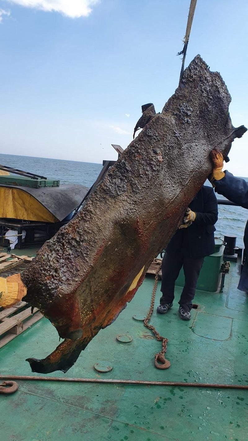 уламки танкера Delfi Одеса пляж дельфін