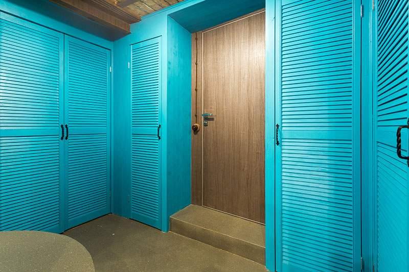 Рейкові дверцята виглядають дуже стильно