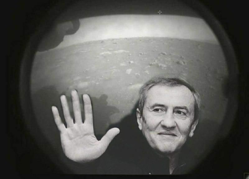 Черновецький на Марсі
