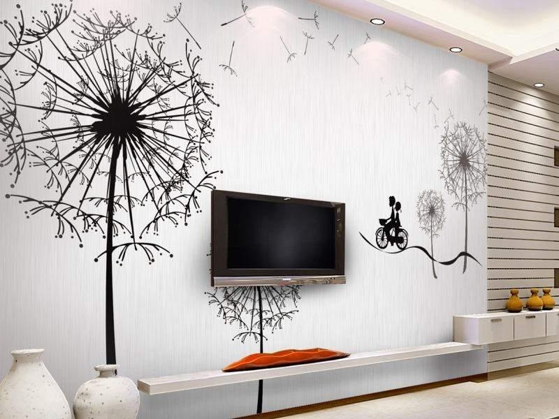 Малюнки на стінах недоречні в маленькій квартирі