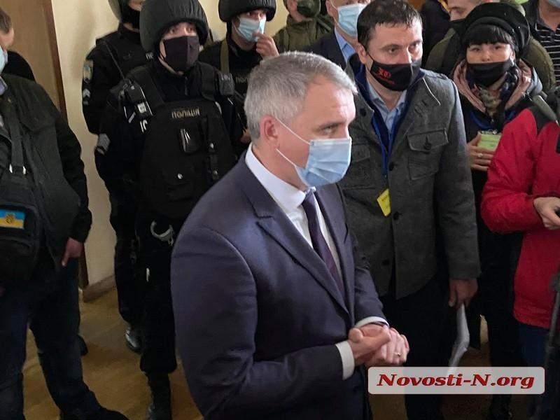 Мер Миколаєва у міській раді
