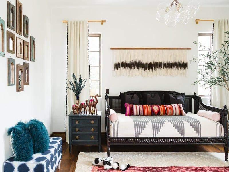 Спальня в стилі бохо
