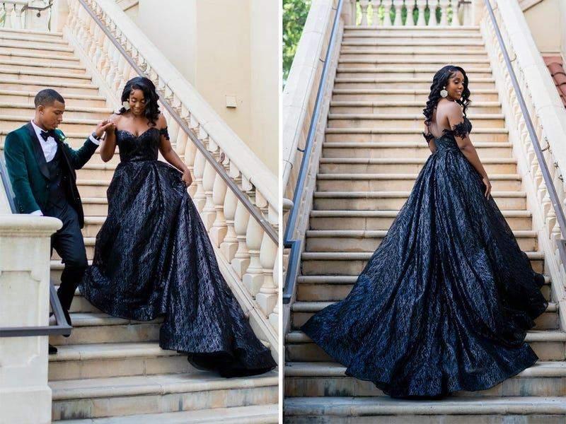 Чорна сукня з вкрапленням срібного кольору просто розкішна