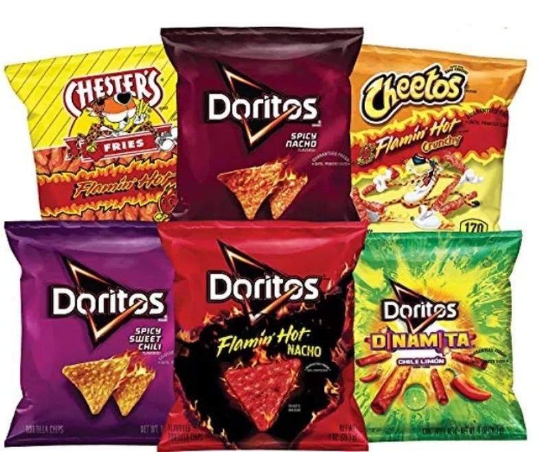 doritos cheetos chips