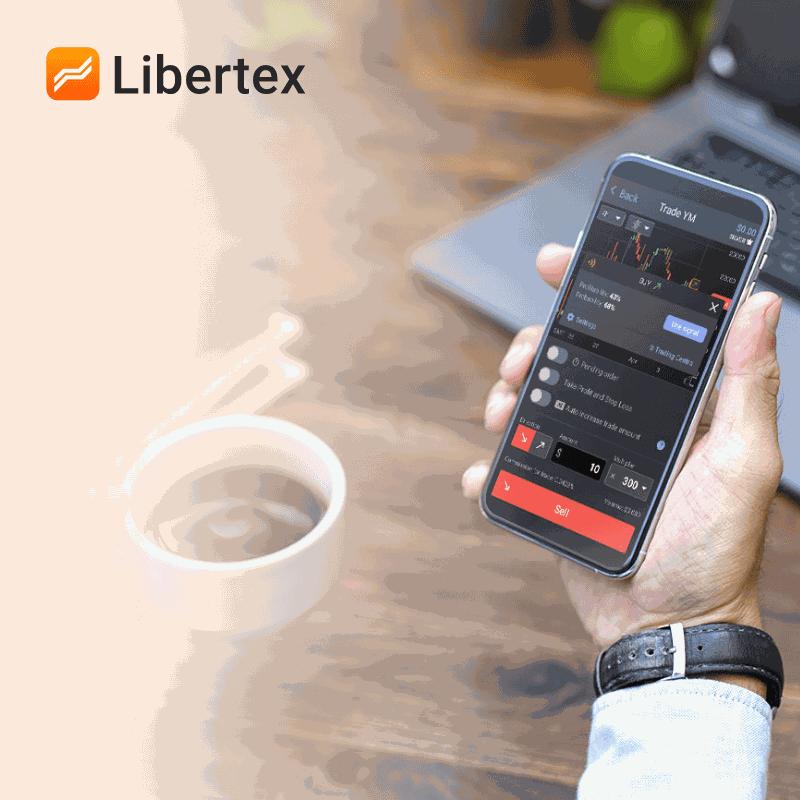 Платформа Libertex доступна як з в браузері, так і у вебдодатку