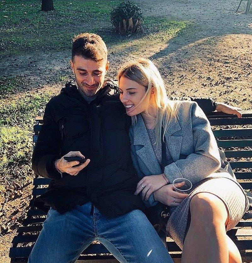 Ольга Харлан з бойфрендом