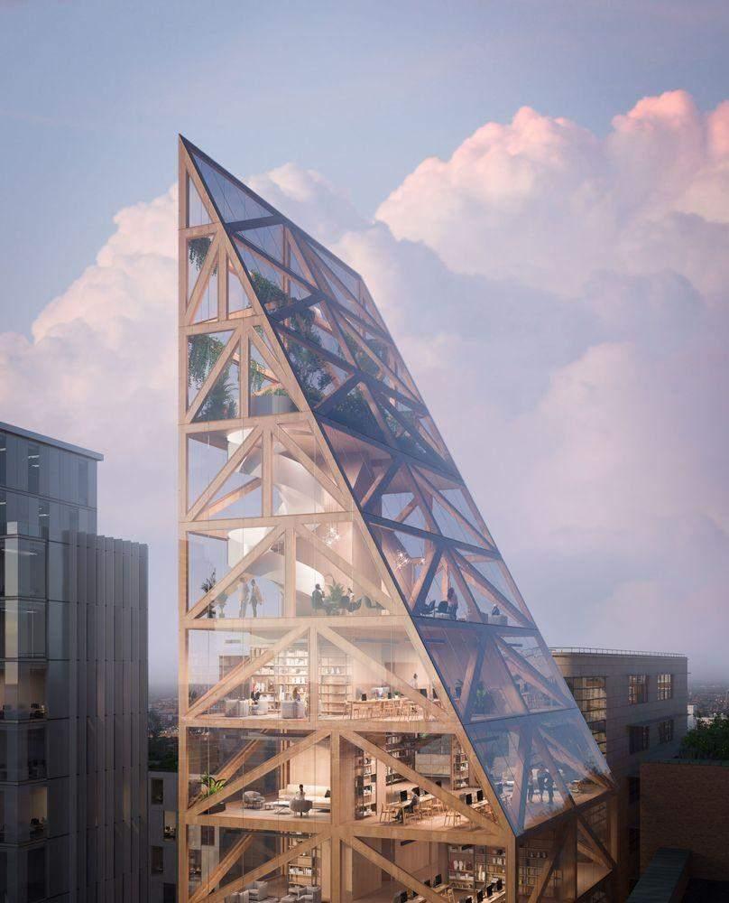 Дивовижна форма будівлі  / Фото Archdaily