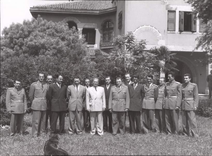 Йосип Тіто з агентами UDBA