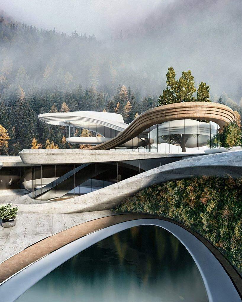 гірський будинок