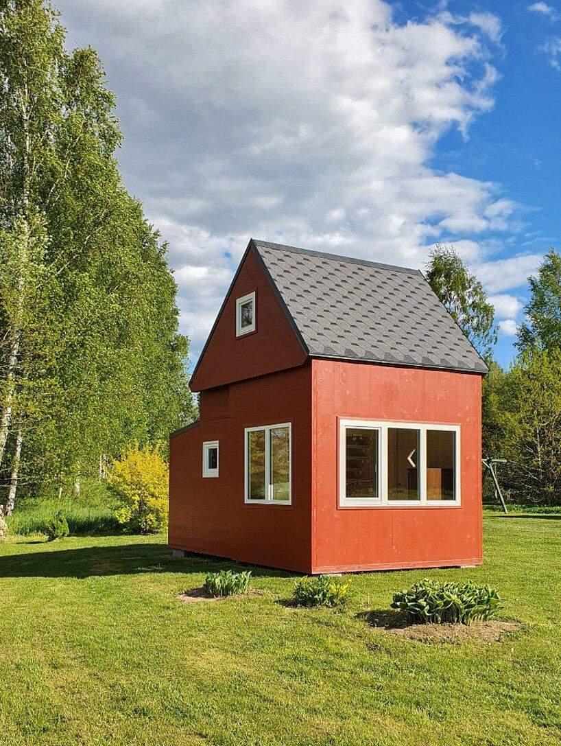 Будиночок можна встановити без фундаменту / Фото Designboom